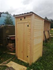 Дачный деревянный туалет. г. Молодечно